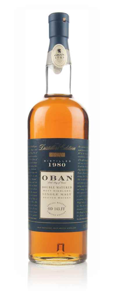 Oban 1980 Montilla Fino Cask Finish - Distillers Edition (Old Bottling)