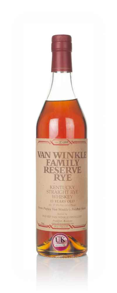 Pappy Van Winkle's Family Reserve Rye 13 Year Old