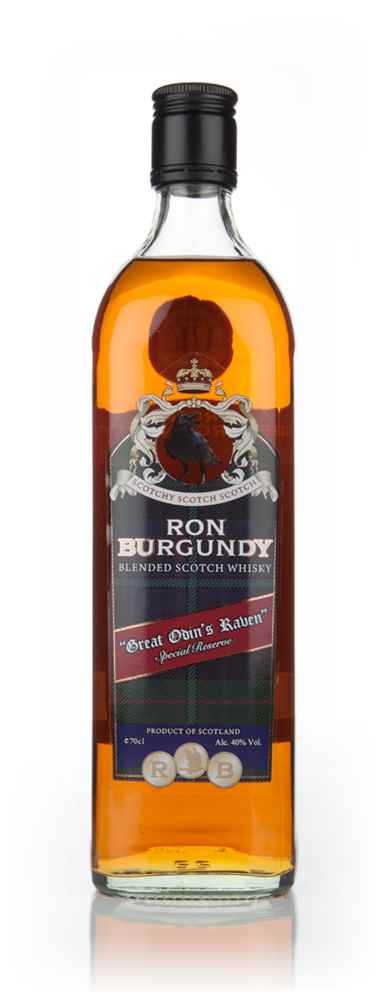 "Ron Burgundy ""Great Odin's Raven"" Special Reserve Blended Scotch Whisky"