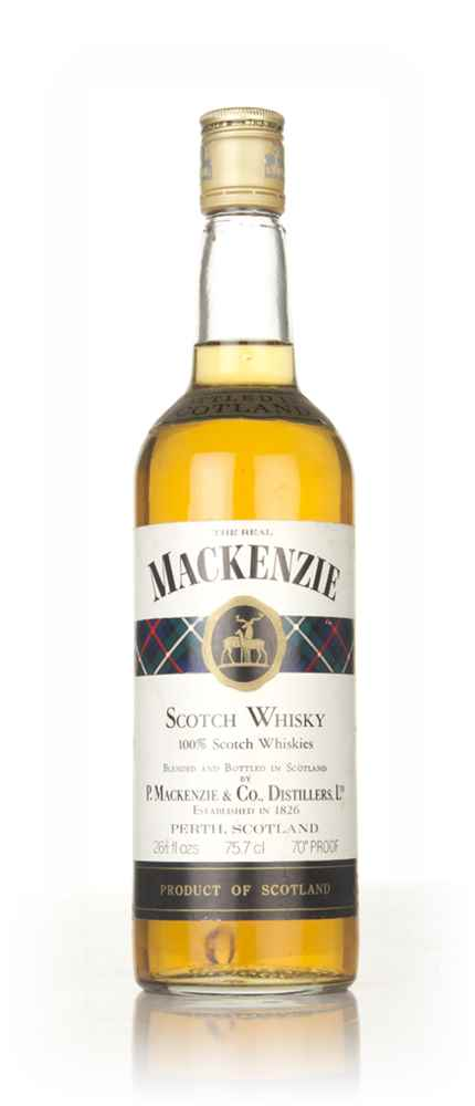 The Real Mackenzie Blended Scotch Whisky - 1970s