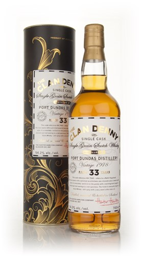 Port Dundas 33 Year Old 1978 - The Clan Denny (Douglas Laing)