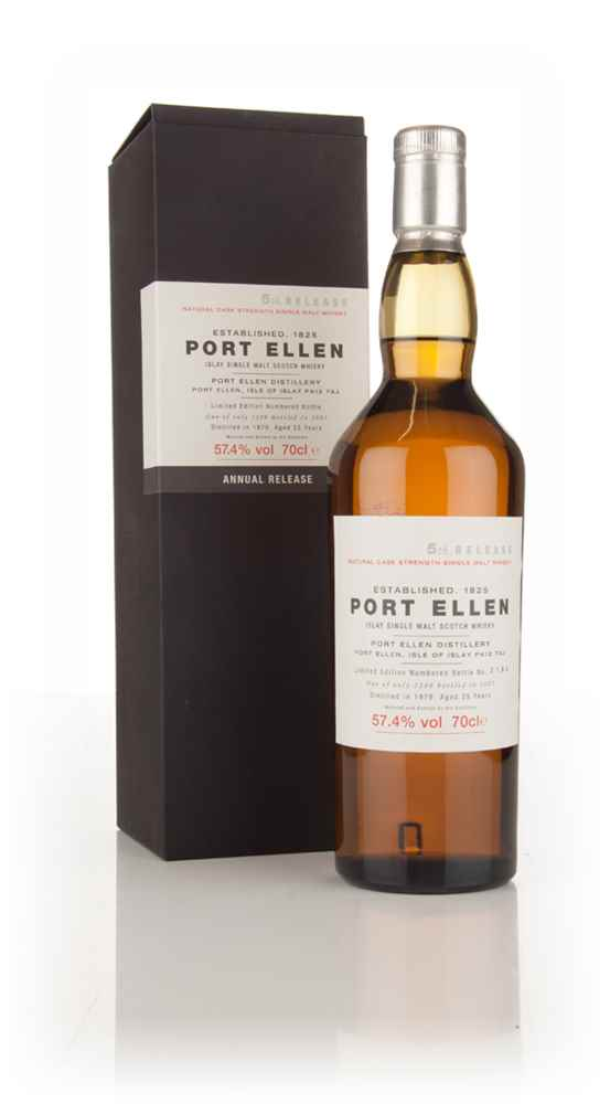 Port Ellen 25 Year Old 1979 - 5th Release (2005 Special Release)