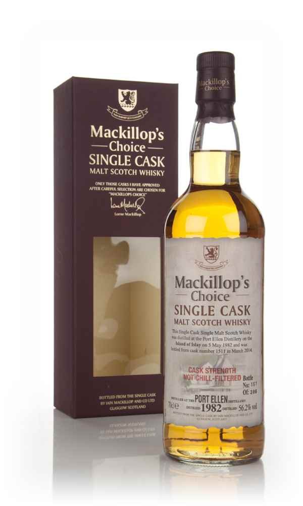 Port Ellen 31 Year Old 1982 (cask 1511) - Mackillop's Choice