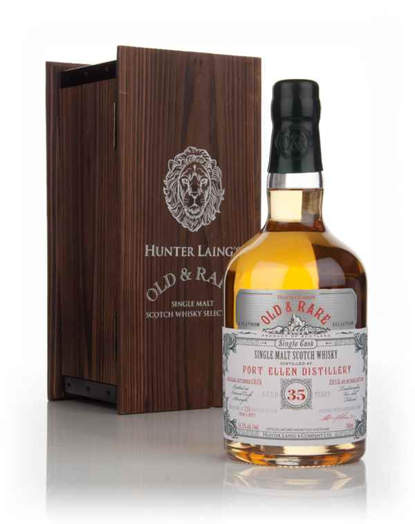 Port Ellen 35 Year Old 1978 - Old & Rare Platinum (Hunter Laing)