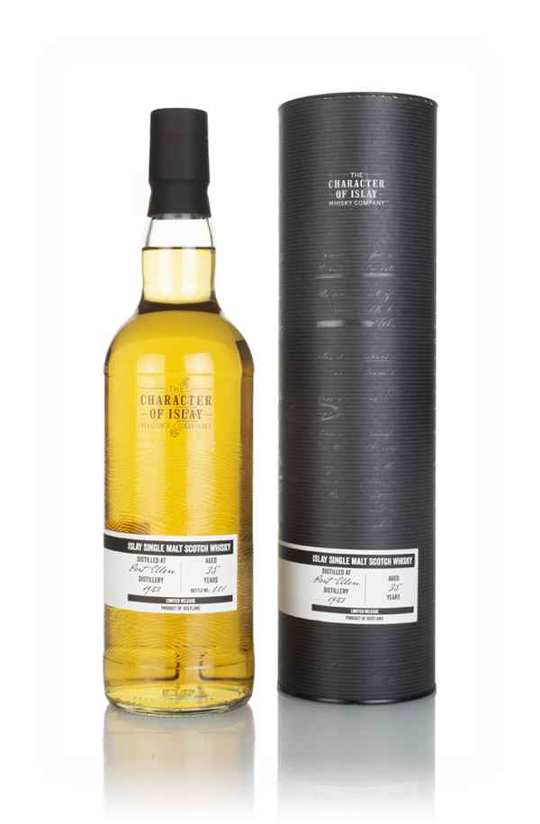 Port Ellen 35 Year Old 1983 (Release No.11535) - The Stories of Wind & Wave (The Character of Islay Whisky Company)