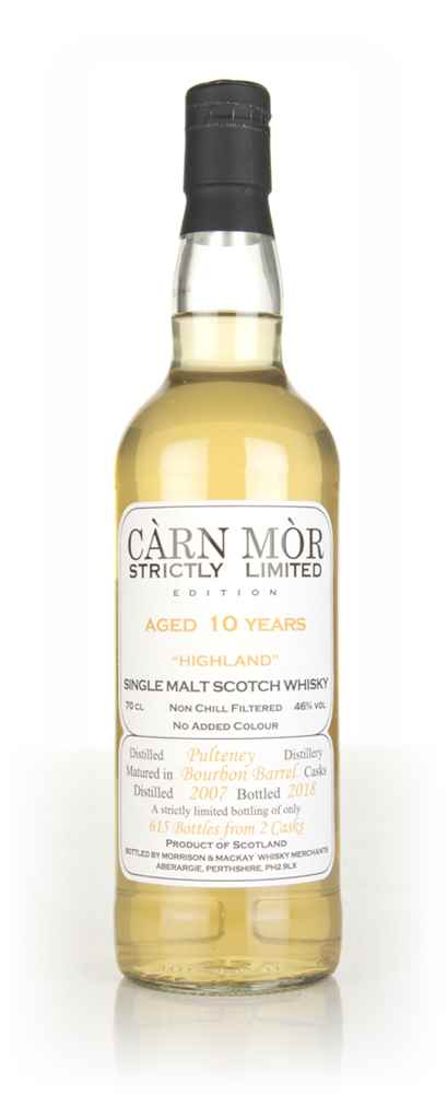 Pulteney 10 Year Old 2007 - Strictly Limited (Càrn Mòr)