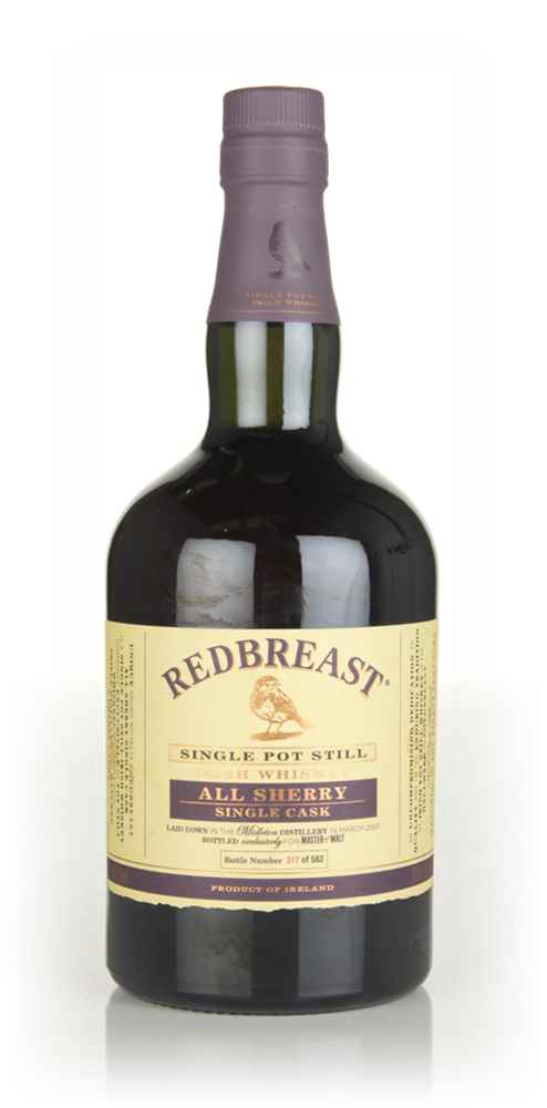 Redbreast 16 Year Old 2001 Single Cask (Master of Malt)