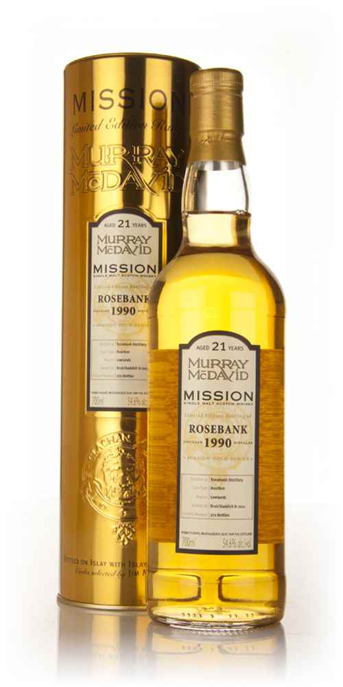 Rosebank 21 Year Old 1990 - Mission (Murray McDavid)