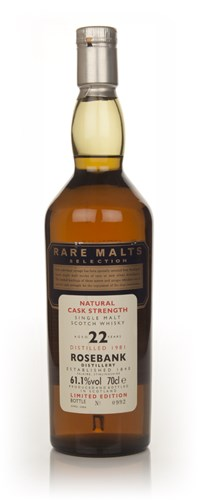 Rosebank 22 Year Old 1981 - Rare Malts (No Box)