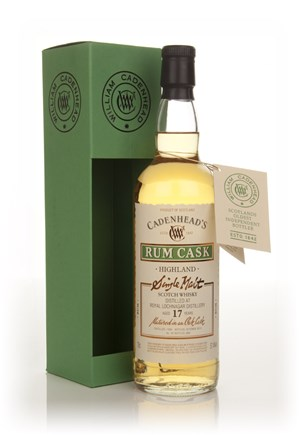 Royal Lochnagar 17 Year Old 1996 - Rum Cask (MW Cadenhead)