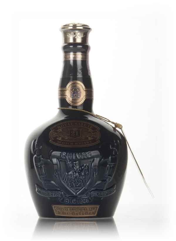Royal Salute 21 Year Old Sapphire Flagon (No Box) - post 1999