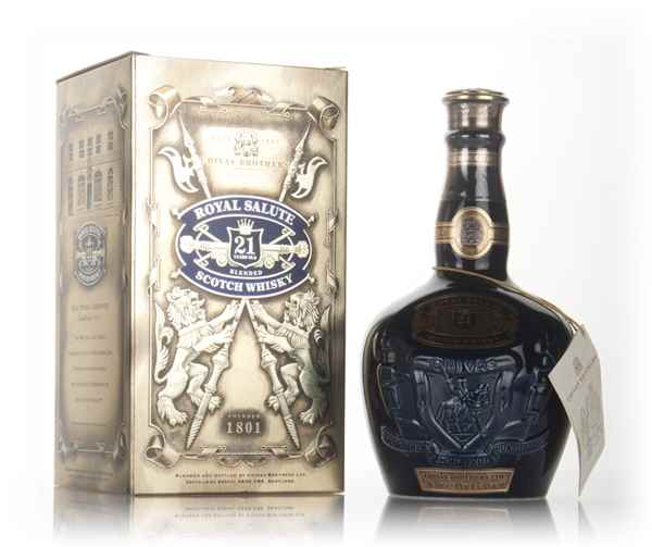 Royal Salute 21 Year Old Sapphire Flagon - post 1999