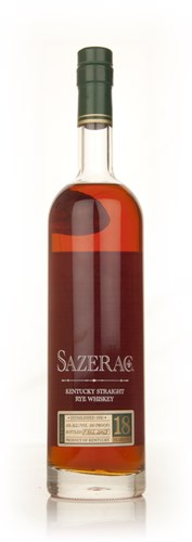 Sazerac 18 Year Old Straight Rye - Fall 2013