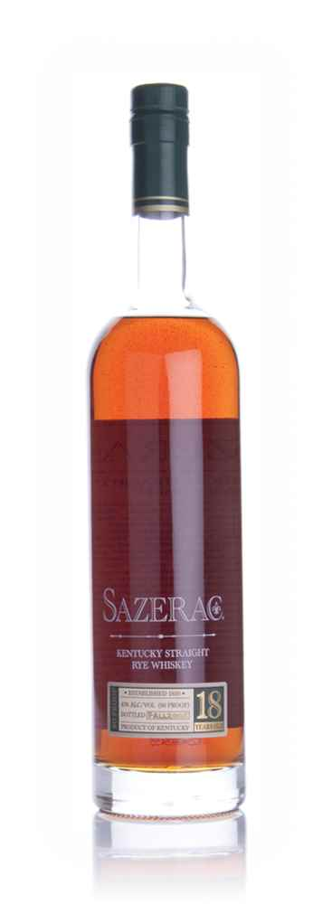 Sazerac Straight Rye 18 Year Old Whiskey (Fall 2008)