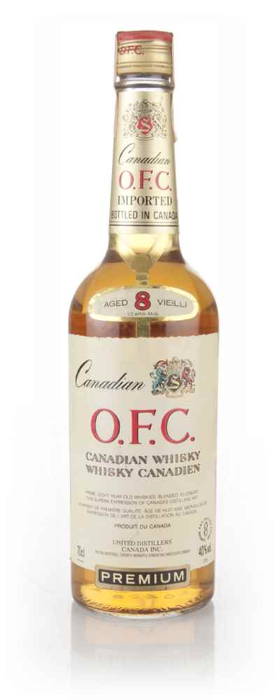 Schenley O.F.C. 8 Year Old Canadian Whisky - 1984