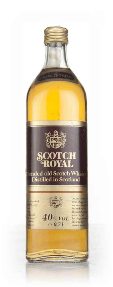 Scotch Royal 5 Year Old - 1980s