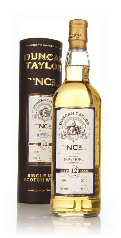Bowmore 12 Year Old 1998 - NC2 (Duncan Taylor)