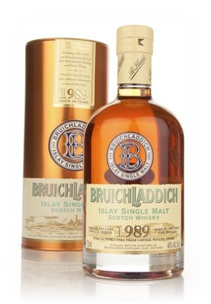Bruichladdich 18 Year Old 1989 Kosher Wine Finish