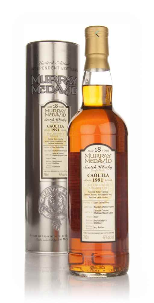 Caol Ila 18 Year Old 1991 (Murray McDavid)