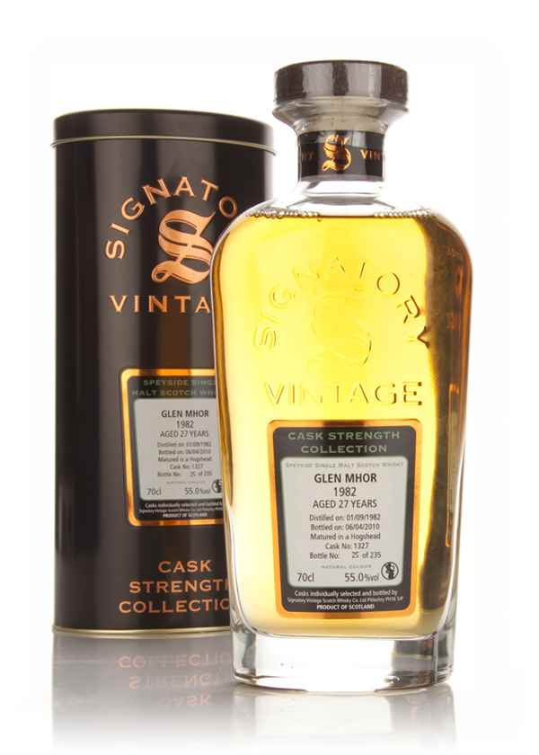 Glen Mhor 27 Year Old 1982 - Cask Strength Collection (Signatory)