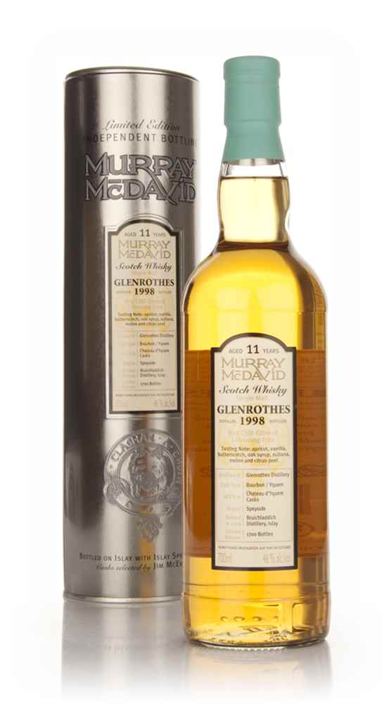 Glenrothes 11 Year Old 1998 (Murray McDavid)