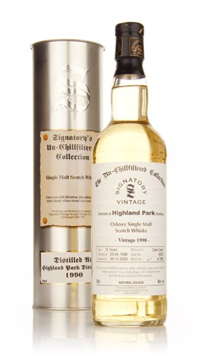 Highland Park 13 Year Old 1990 - Un-Chillfiltered (Signatory)