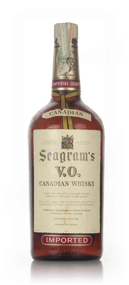 Seagram's V.O. Canadian Whisky - 1961
