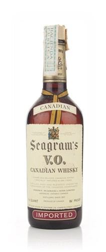 Seagram's V.O. 6 Year Old Canadian Whisky - 1973