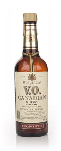 Seagram's V.O. 6 Year Old Canadian Whisky - 1984