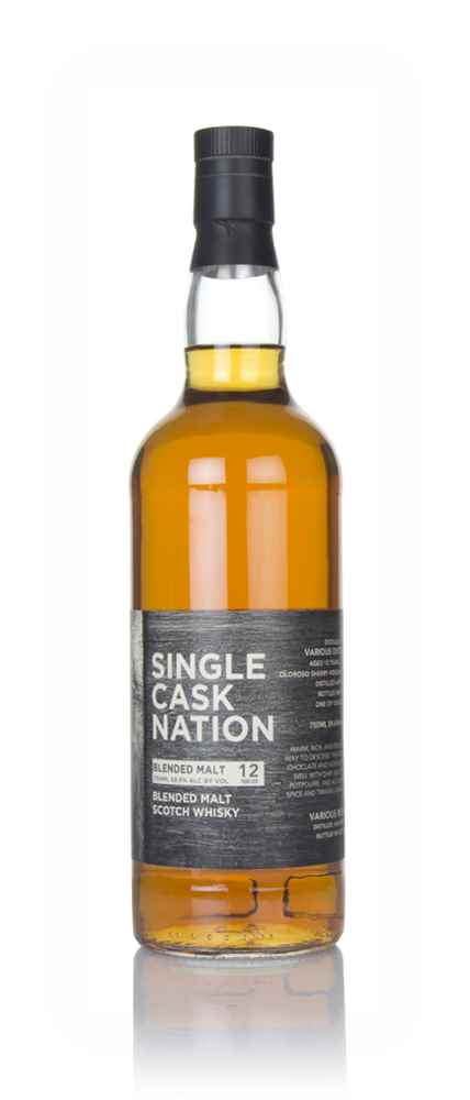 Blended Malt Scotch Whisky 12 Year Old 2006 (Single Cask Nation)