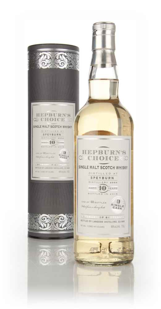 39db19f1e4c Speyburn 10 Year Old 2004 (Bottled 2015) - Hepburn s Choice ...