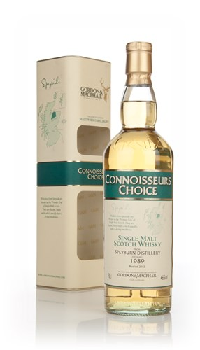 Speyburn 1989 (bottled 2013) - Connoisseurs Choice (Gordon & MacPhail)