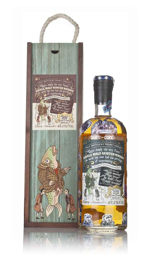 Speyburn 7 Year Old *Pimped* Charity Auction Bottle 1L (That Boutique-y Whisky Company)