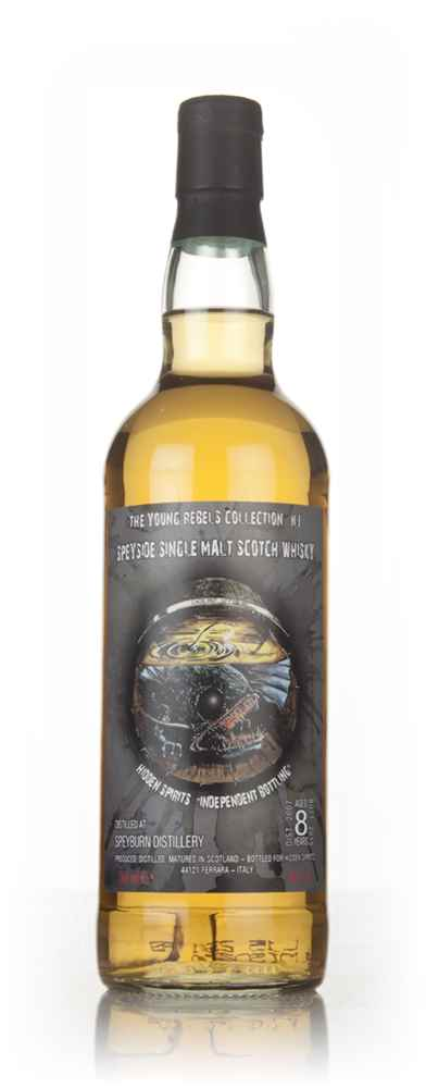 Speyburn 8 Year Old 2007 - Young Rebels Collection No.1 (Hidden Spirits)