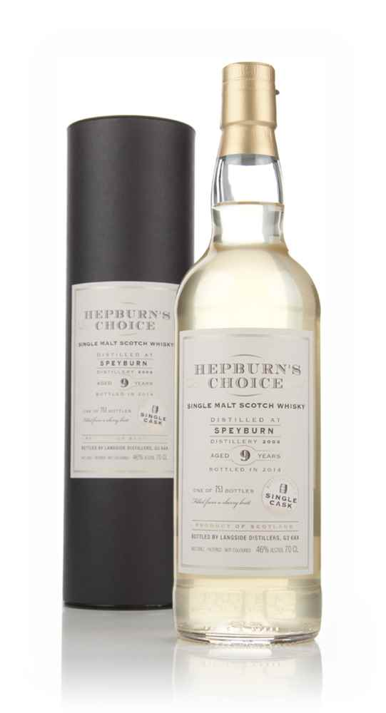Speyburn 9 Year Old 2004 - Hepburn's Choice (Langside)