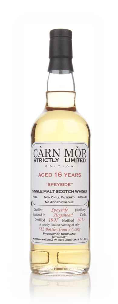 Speyside 16 Year Old 1997 - Strictly Limited (Càrn Mòr)
