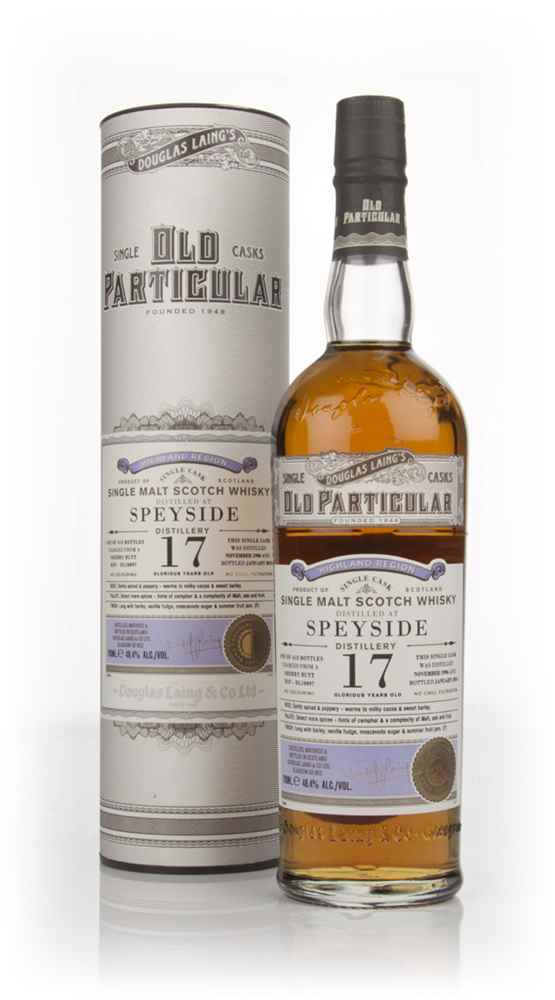 Speyside 17 Year Old 1996 (cask 10097) - Old Particular (Douglas Laing)