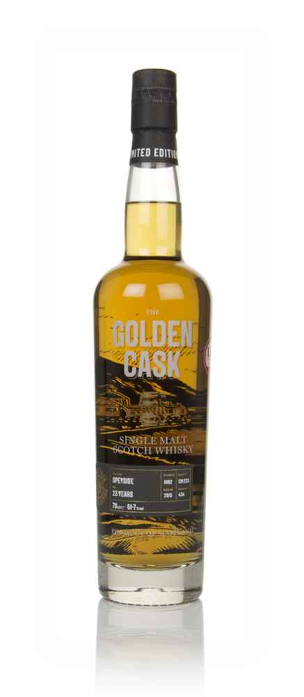 Speyside 23 Year Old 1992 (cask CM223) - The Golden Cask (House of Macduff)