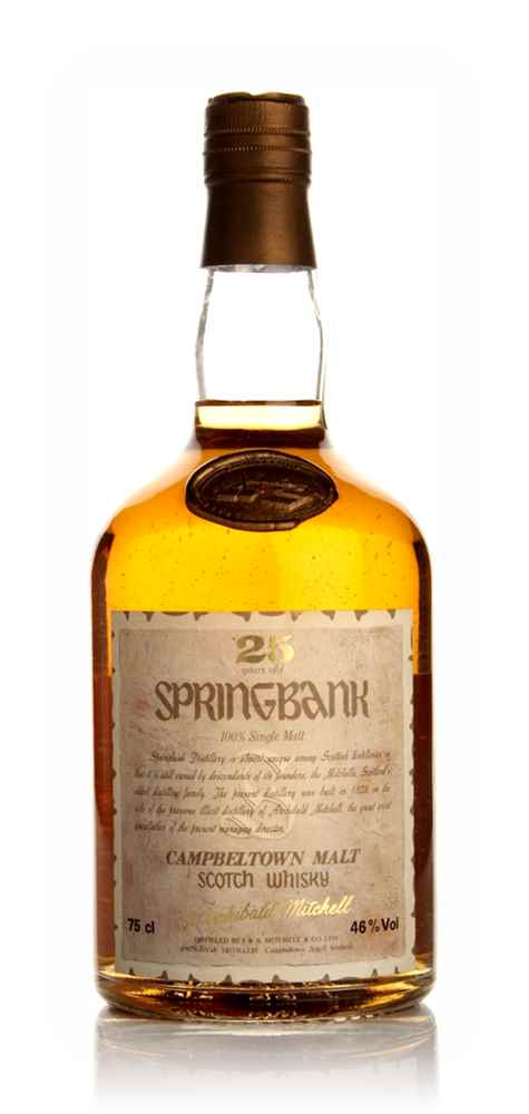 Springbank 25 Year Old (Old Bottle)