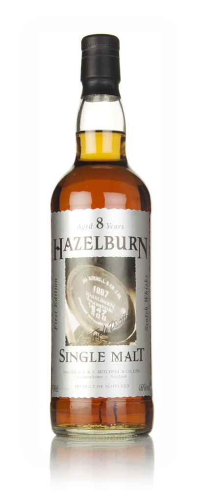 Hazelburn 8 Year Old First Edition - Cask Label