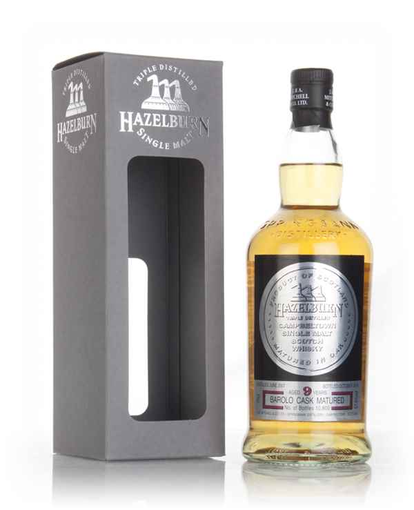 Hazelburn 9 Year Old 2007 - Barolo Cask Finish