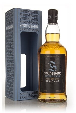 Springbank 16 Year Old 1997 - Cask Strength