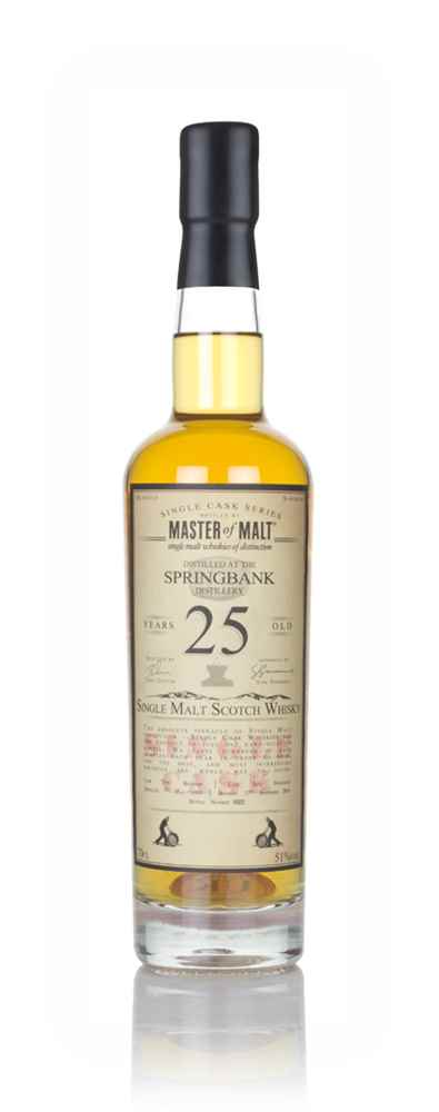 Springbank 25 Year Old 1993 - Single Cask (Master of Malt)