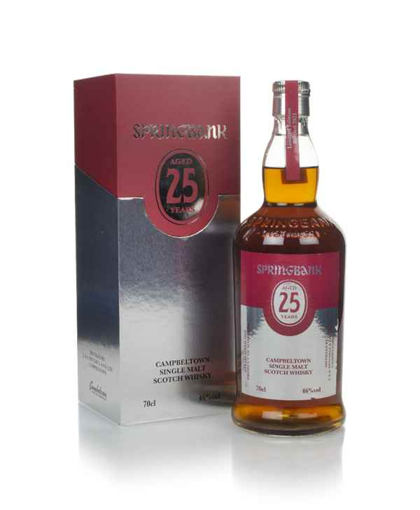 Springbank 25 Year Old (bottled 2021)