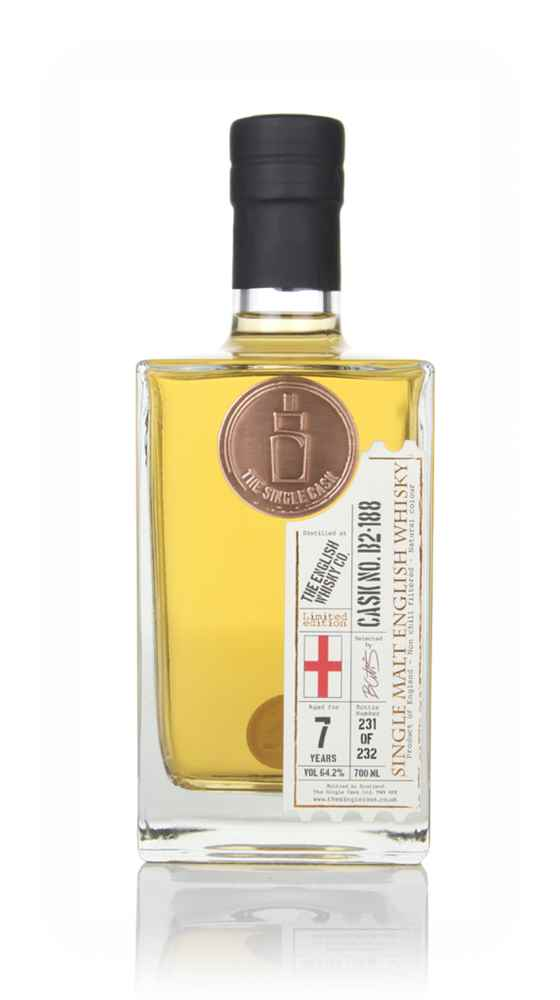 English Whisky Co. 7 Year Old 2011 (cask B2-188) - The Single Cask