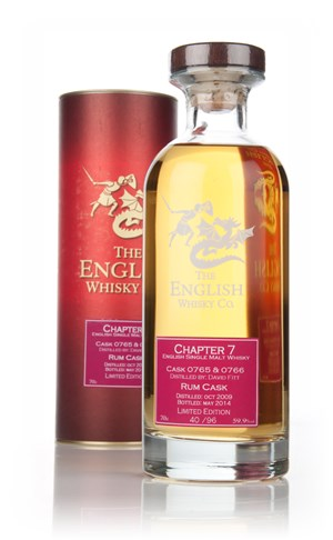 English Whisky Co. Chapter 7 - Cask Strength