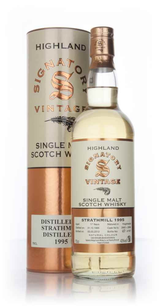 Strathmill 17 Year Old 1995 (casks 2663+2664) (Signatory)