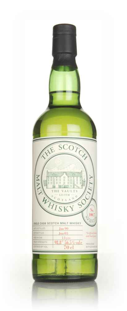 SMWS No. 100.7 13 Year Old 1990