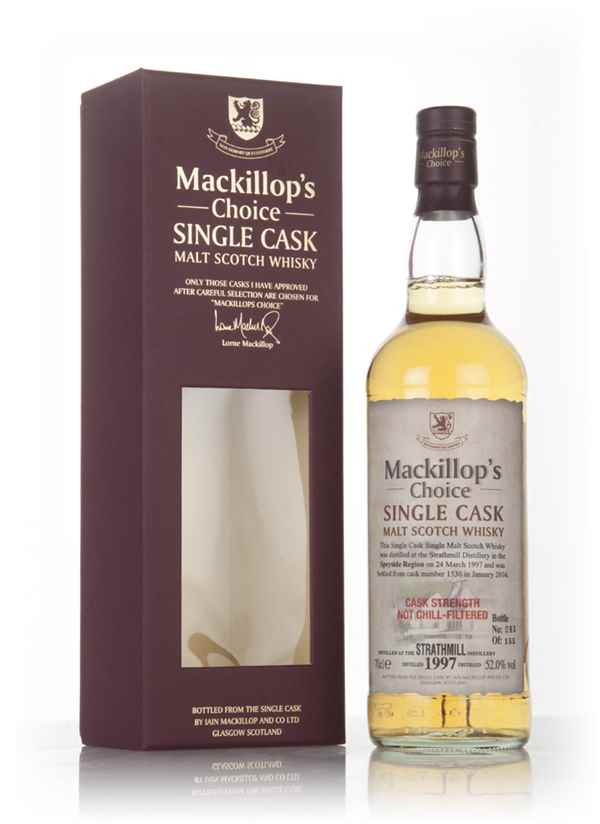 Strathmill 18 Year Old 1997 (cask 1530) - Mackillop's Choice