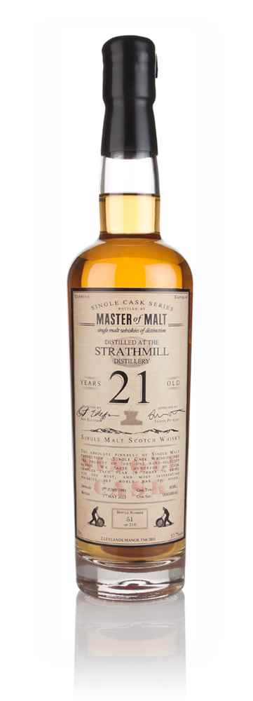 Strathmill 21 Year Old 1991 - Single Cask (Master of Malt)